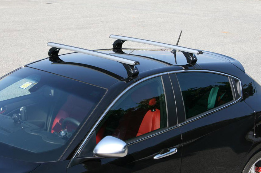 Dakdragers LP49 gemonteerd op Alfa Romeo Guilietta