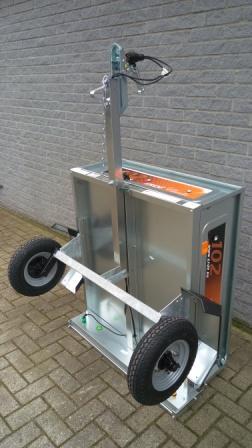 Erde 102 bagagewagen